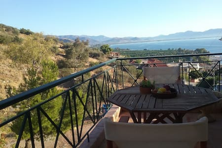 Breathtaking view appartment in Kiveri - Lerna