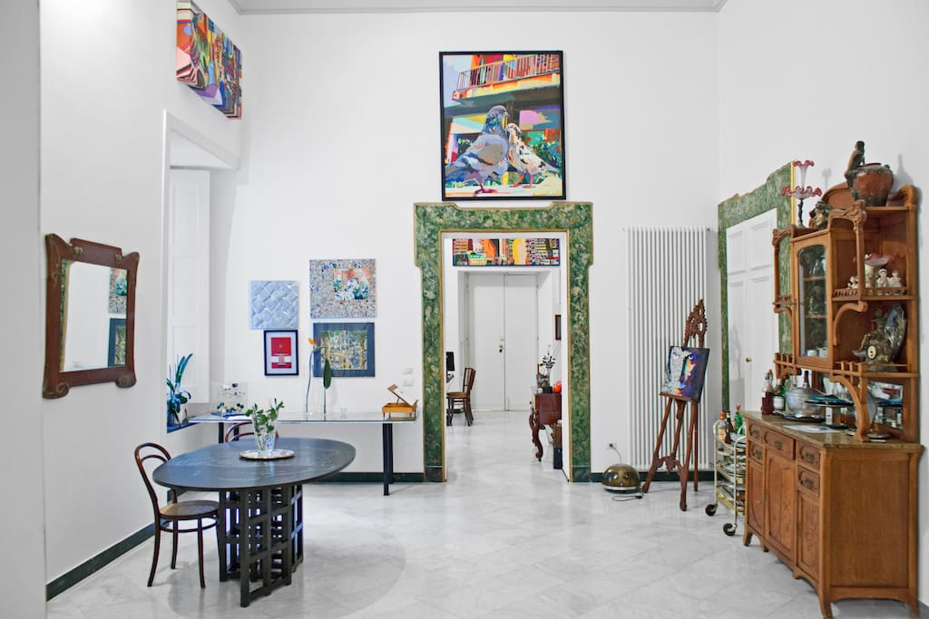 Elegant room in Historical Palazzo