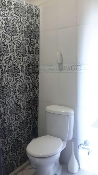 Banheiro da suíte do casal