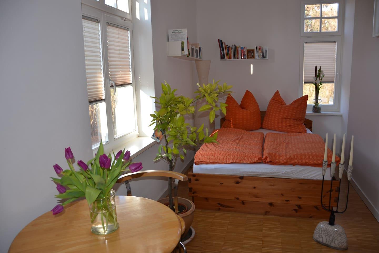 gemütliches Bett für zwei