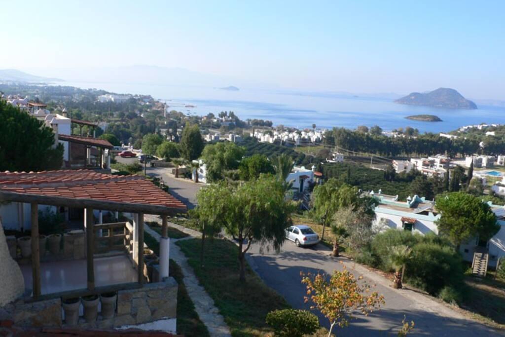 The neighbourhood and the terrace