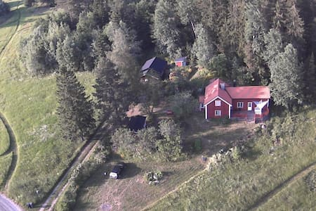 An Artist's summer house outside Edsbro, Roslagen