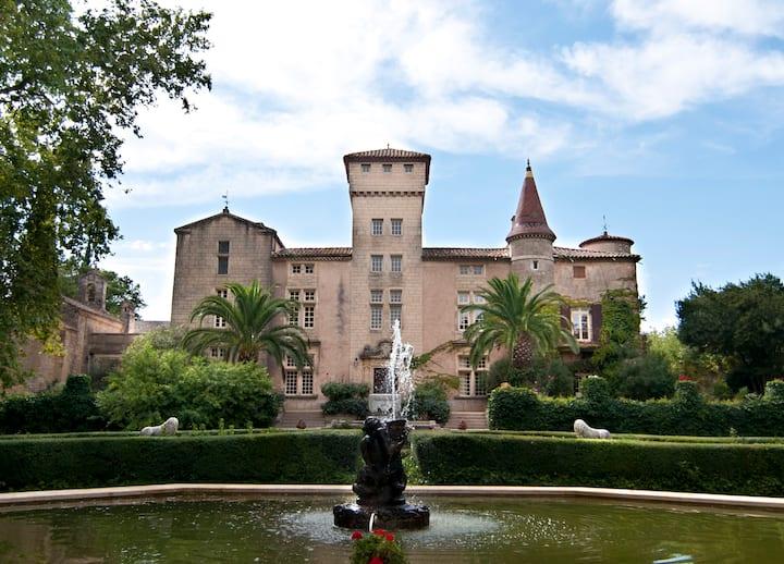 Chateau XVI Languedoc, France