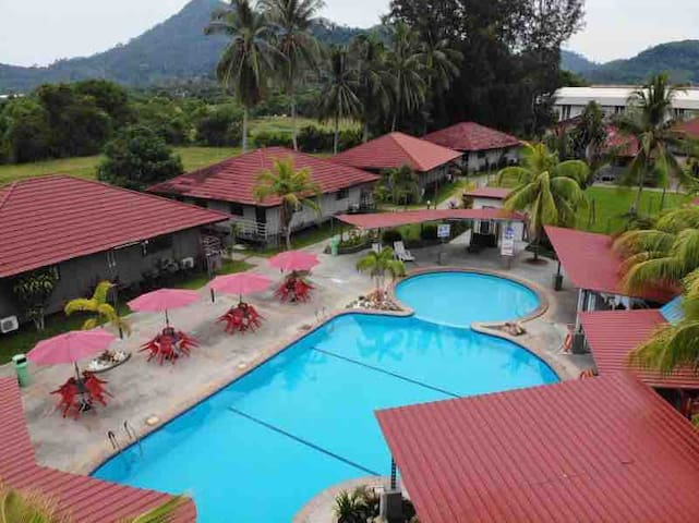 Langkawi swimming pool resort & leisure hotel-1#