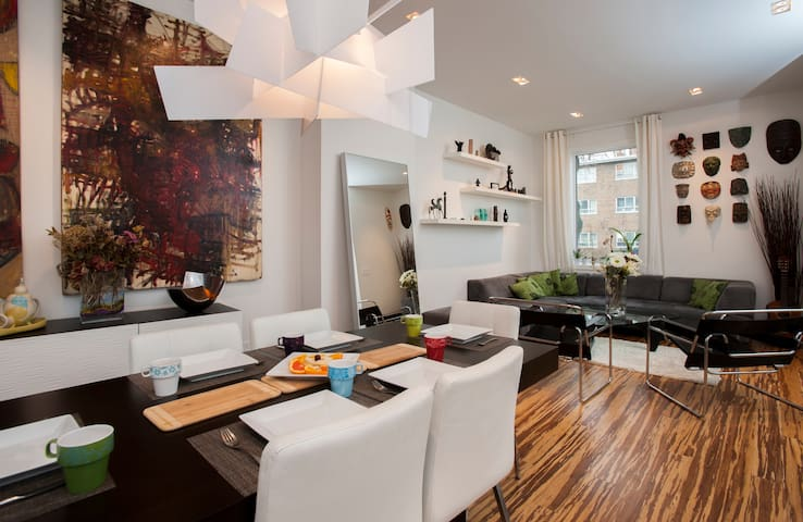 Stylish Downtown Double Room - Toronto - House