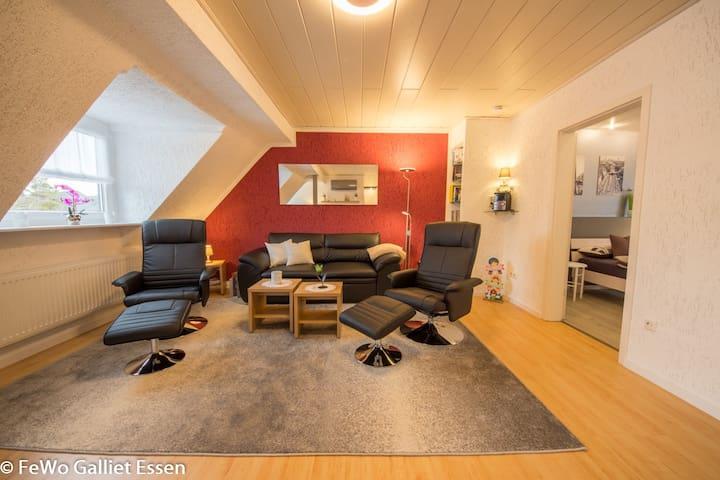 FeWo Galliet 2 - Neue Komfort-Wohnung in Essen - Essen - Apartemen