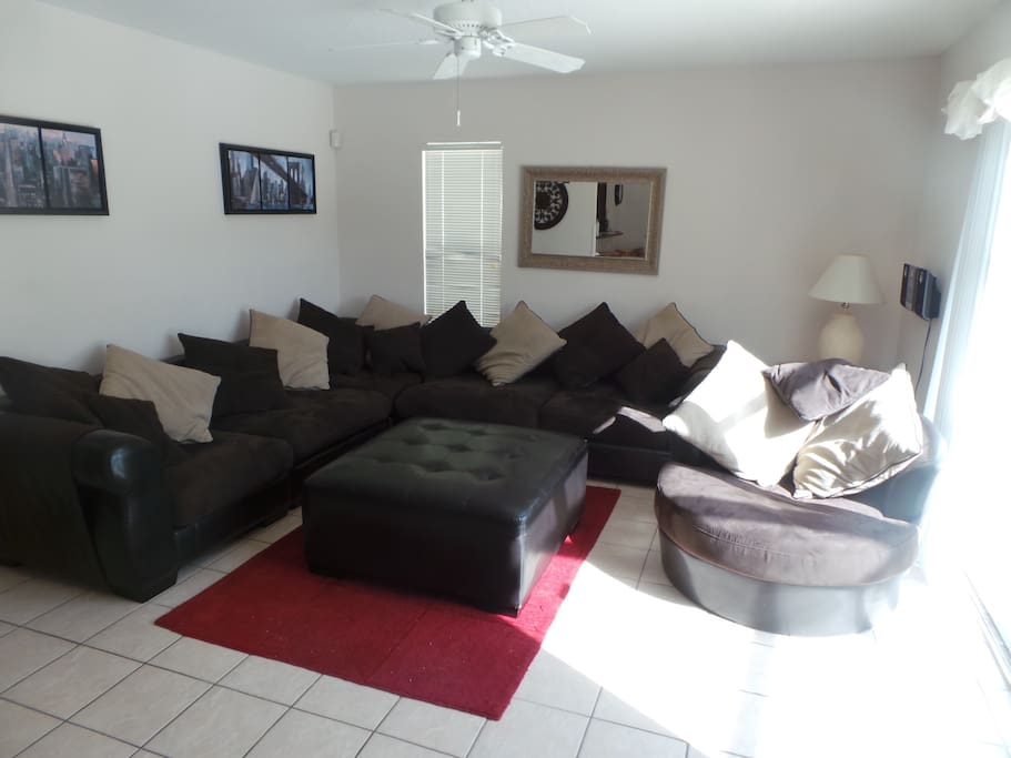Our Large Sectional Suite