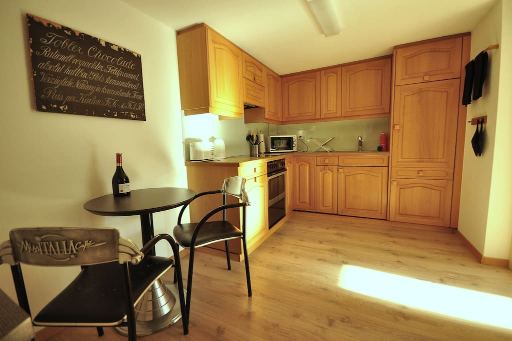 Large spacious fully equipped kitchen