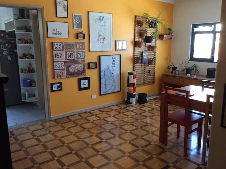 Nice and quiet private room near Vila Madalena