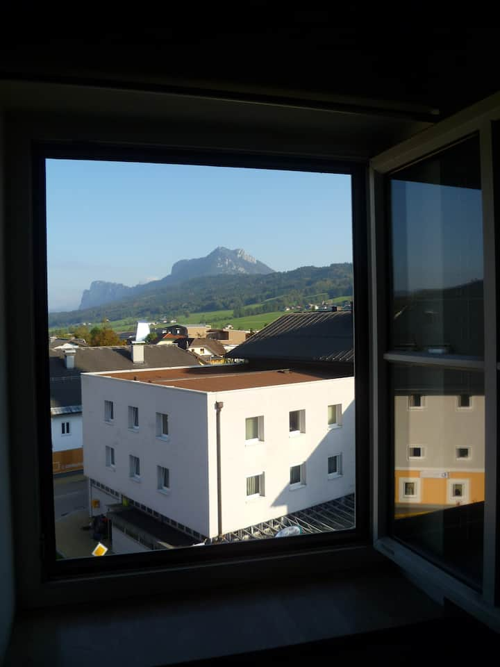 Garconniere with view in Thalgau