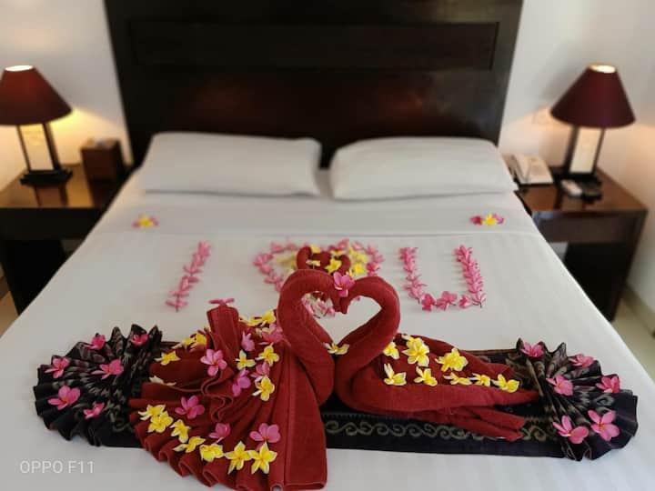 Private Pool Villa for Honeymooner; Beach-front