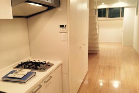 2 Floor Studio Apartment w/Piano - Chūō-ku - Pis