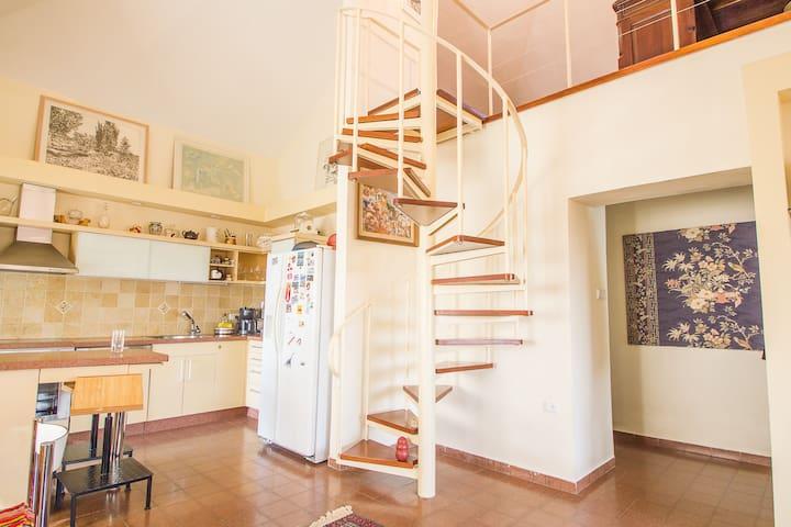 Classic Jerusalem style loft. - Jérusalem - Loft