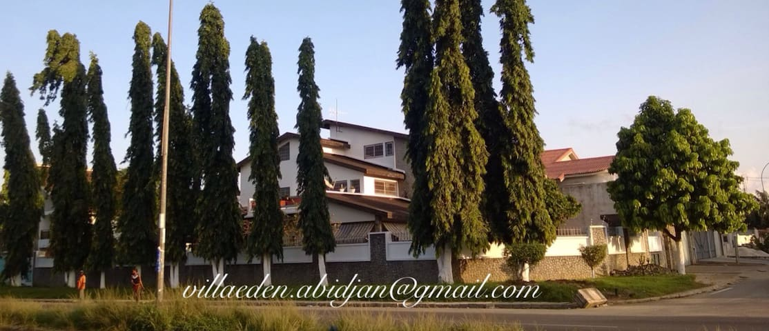 Villa Eden-Beautiful rooms-Macajo1 - Abidjan