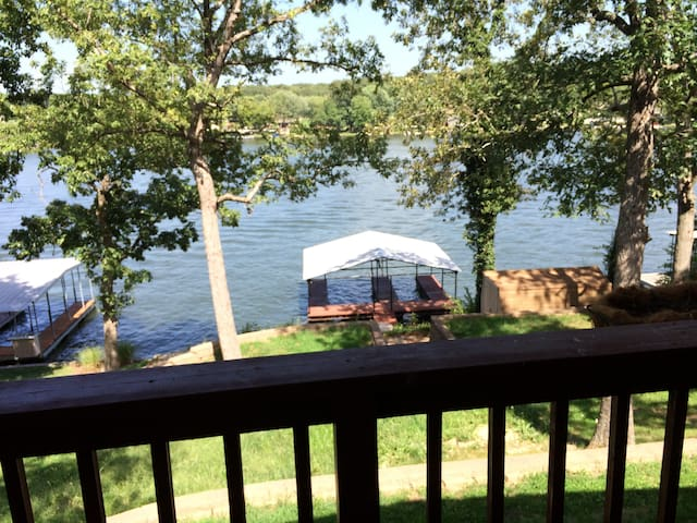 Great lakehouse with amazing views