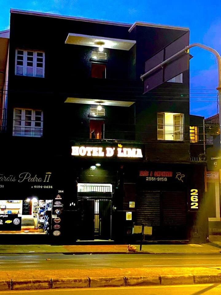Aluguel de quartos Hotel D' Lima