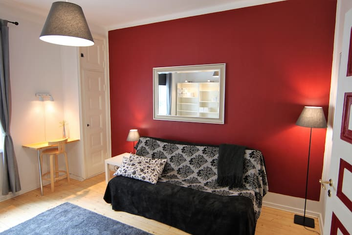 Studio apartment in Kallio district