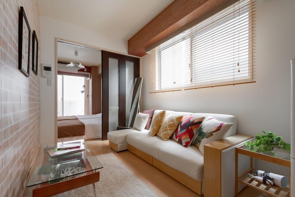 Fashionable interior