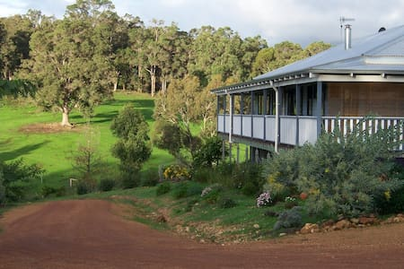 welcoming b&b amidst rolling hills - Nannup