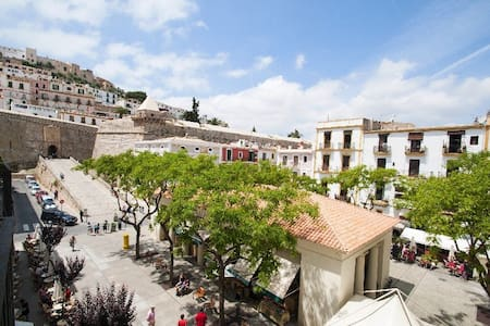Unieke locatie midden in Ibiza stad - Ibiza