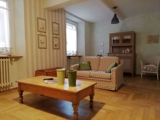 Particolare appartamento nel cuore di Ovada