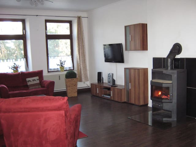 Ferienwohnung in Stolpe / Nähe Kiel - Stolpe - Appartement