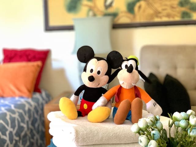Quite & Clean 1 bedroom 1 bath close to Disneyland