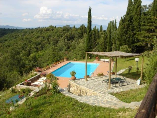 La Vista (Gratena) - Pieve A Maiano - Arezzo - Apartment
