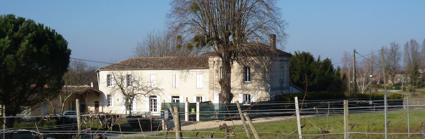 vacances au milieu des vignes - Saint-Pierre-de-Bat - Hus