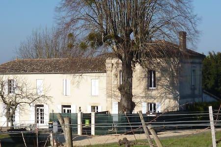 vacances au milieu des vignes - Saint-Pierre-de-Bat - Casa