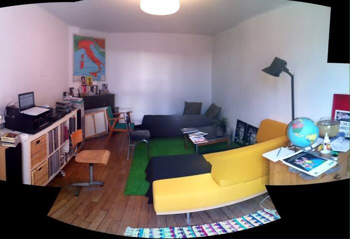 Appartement 60m2 dans l'hyper centre de Cherbourg