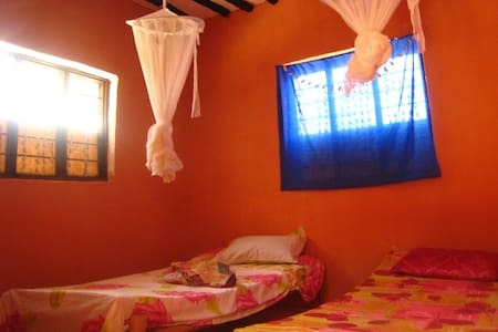 Beach Bungalow 35meters from Beach - Paje