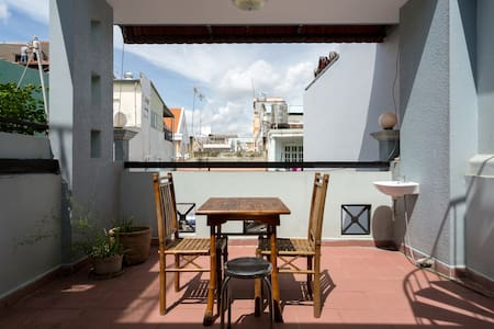 Room with TERRACE and rooftop - Ho Chi Minh City, Hồ Chí Minh, VN