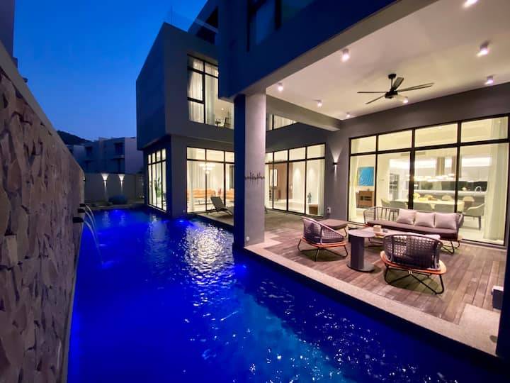 Molly Luxury Private Pool Bungalow @ Pantai Cenang