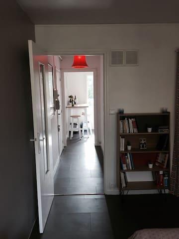 Appartement niché au coeur de l'Ile verte