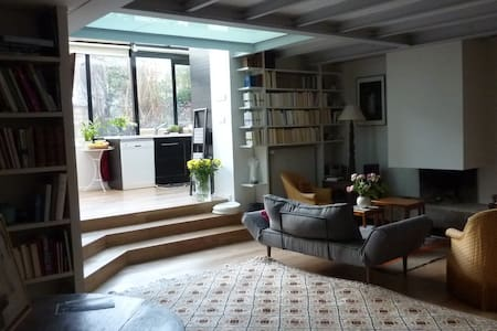 Spacious contemporary Paris loft - Parigi