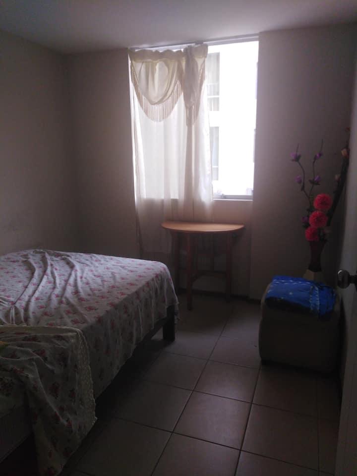 Habitación con baño individual