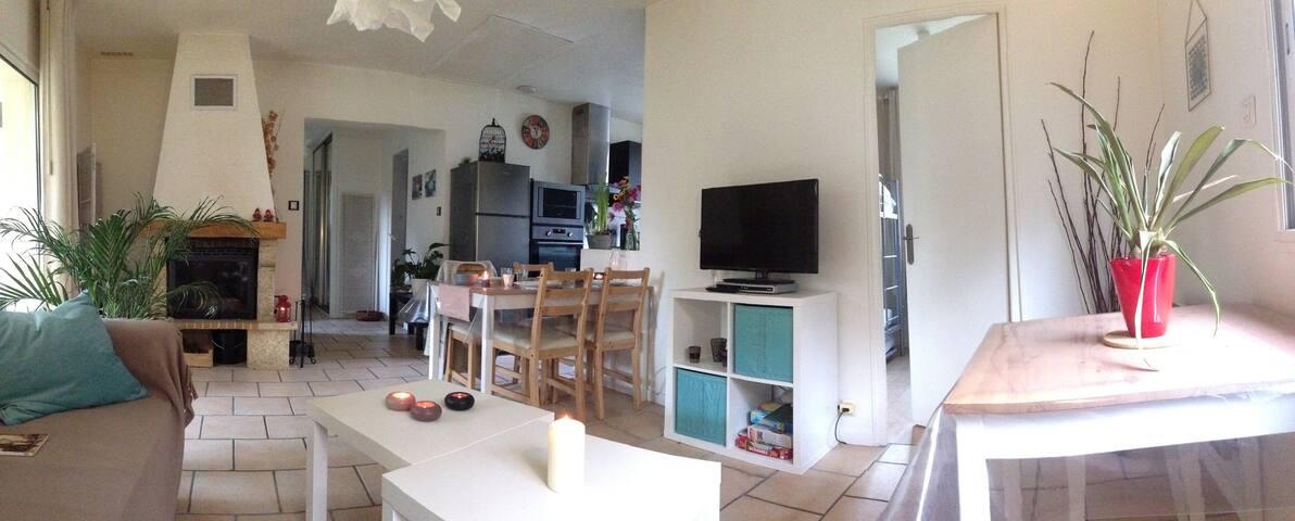 Charmante maison cocooning, avec calme et jardin ! - Vernou-la-Celle-sur-Seine - Dom