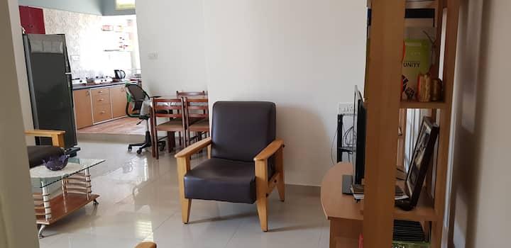Indiranagar, fully furnished 3 bedrooms, central.