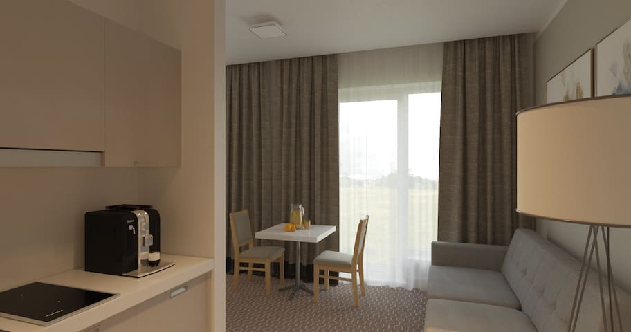 Studio apartment Merepargi ApartHotel & Cafe