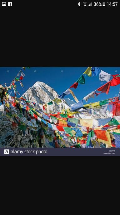 Montagne durante Campo di Meditazione