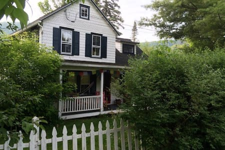 Apple Hill circa 1890 House by Lake and Skiing! - East Jewett
