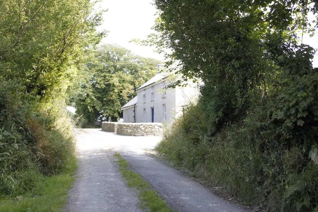 Laneway with House in background