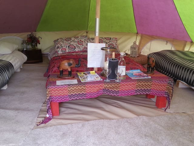 Gorgeous Yurts and Bell Tents  - Munny Upper - Yurt