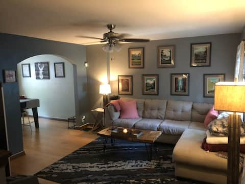 PERFECT location & place to relax and enjoy Indy!