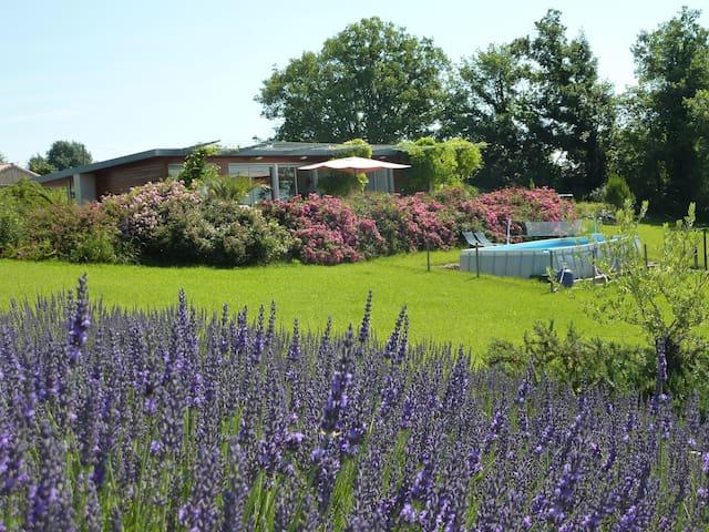 Périgord 6p près Bergerac piscine - Ribagnac