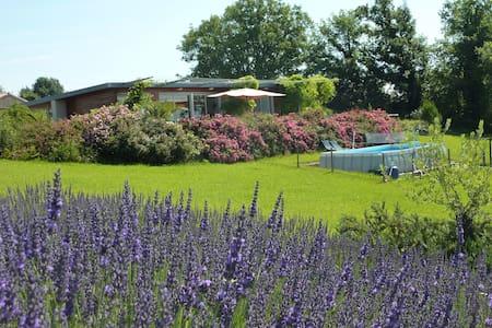 Périgord 6p près Bergerac piscine - Ribagnac - House