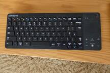 Keyboard to control smart TV