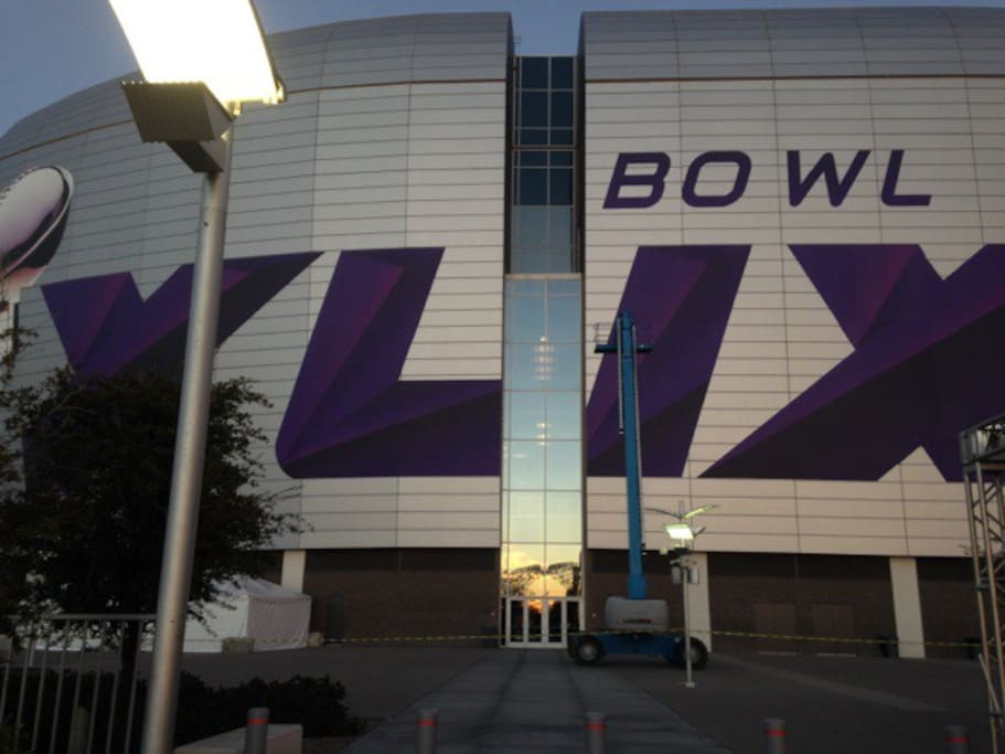 Super Bowl XLIX is here!