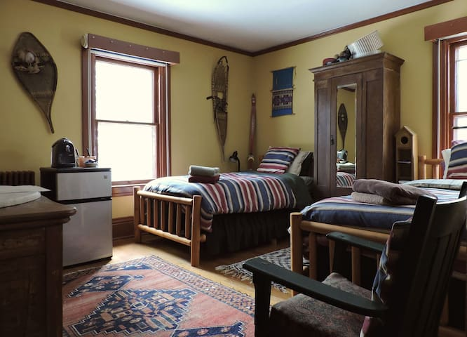 The Doctor's Inn - The Yellow Room - Saranac Lake - Lejlighed